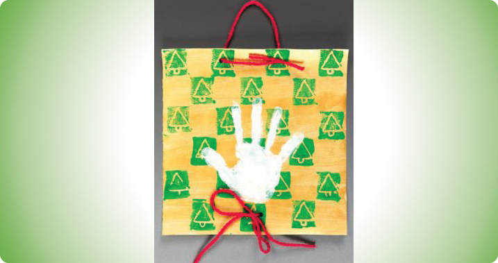 Holiday Handprint Banner